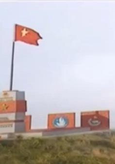 Khởi công xây dựng cột cờ Tổ quốc tại đảo Hòn La