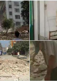 Quang cảnh kinh hoàng sau 17 vụ nổ bom liên hoàn tại Trung Quốc