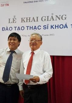 Đà Nẵng: Cụ ông 82 tuổi được đặc cách tuyển thẳng cao học