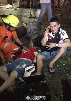 Chưa tìm thấy người Việt Nam nào thương vong sau vụ nổ ở Thái Lan