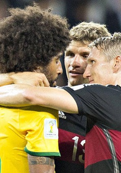 Dante dọa đánh Muller vì khơi lại thảm bại 1-7 tại World Cup