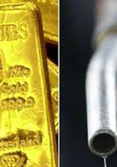 Giá dầu mỏ và vàng thế giới đồng loạt giảm sâu
