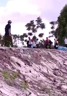 Đê Tào Khê, Bắc Ninh bị 'bức tử' đe dọa cuộc sống 40.000 hộ dân