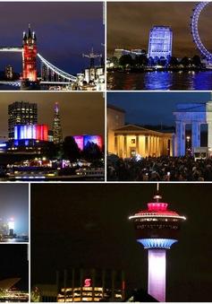 Thế giới 'thắp sáng' màu quốc kỳ Pháp sau vụ khủng bố kinh hoàng ở Paris