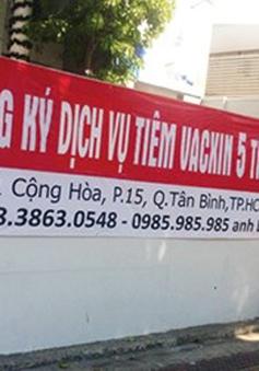 Thanh tra Sở Y tế TP.HCM vào cuộc vụ đặt cọc vaccine dịch vụ