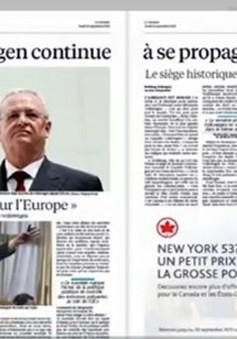 Volkswagen gian lận khí thải – Tâm điểm báo chí quốc tế