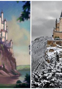 Phiên bản thật của những khung cảnh mê hồn trong phim hoạt hình