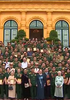 Phó Chủ tịch nước Nguyễn Thị Doan tiếp Hiệp hội Doanh nhân Cựu chiến binh