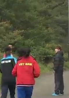 ĐT nữ Taekwondo ráo riết tập nặng trên Tam Đảo