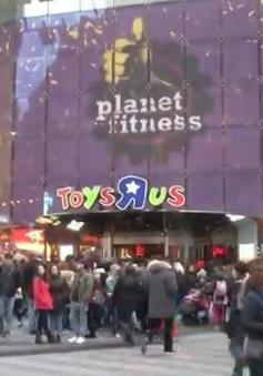 Cửa hàng đồ chơi Toys R Us ở Quảng trường Thời đại đóng cửa