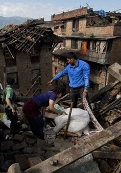 Nepal thiếu nhân lực để dọn dẹp đống đổ nát