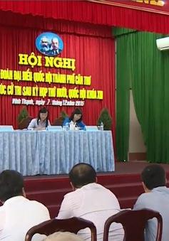 Đồng chí Lê Hồng Anh tiếp xúc cử tri Cần Thơ