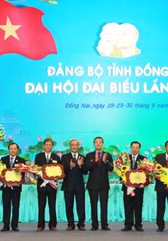 Bế mạc Đại hội đại biểu Đảng bộ tỉnh Đồng Nai và Phú Thọ