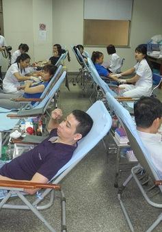 Lượng máu được hiến chưa đạt ngưỡng an toàn truyền máu quốc gia