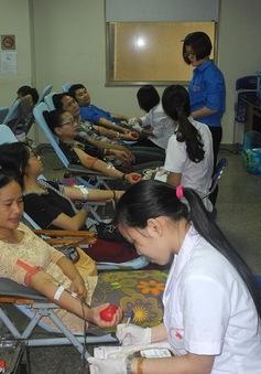 1,2 triệu đơn vị máu được tiếp nhận nhờ các phong trào tình nguyện