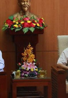 Đồng chí Ngô Văn Dụ làm việc tại tỉnh Quảng Nam