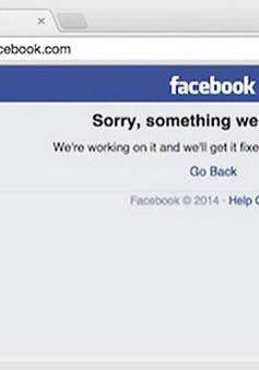 Facebook bị sập toàn cầu gần 1 tiếng đồng hồ
