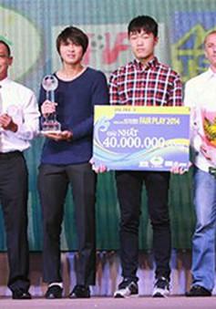 U19 Việt Nam lần thứ hai nhận giải Fair Play