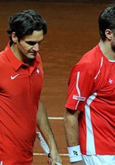 Federer và Wawrinka đồng loạt rút khỏi Davis Cup