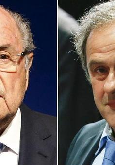 NÓNG: Sepp Blatter và Michel Platini bị cấm làm bóng đá trong 8 năm