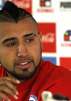 Say rượu gây tai nạn, Vidal vẫn được dự Copa America cùng ĐT Chile