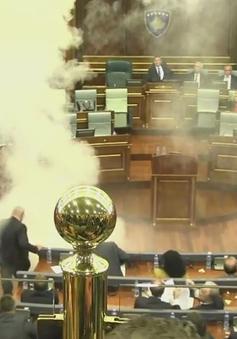 Nghị sĩ đem bom khói đốt giữa... quốc hội