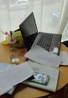 Hà Nội: Bắt giữ 3 trường hợp dùng thiết bị gian lận tinh vi trong kì thi THPT Quốc gia