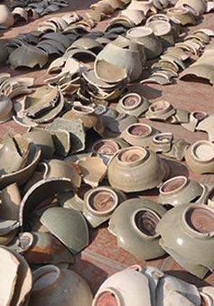 Hải Dương: Phát hiện lò gốm phục vụ cho Hoàng thành Thăng Long