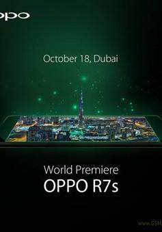 Oppo R7s sẽ ra mắt vào ngày 18/10