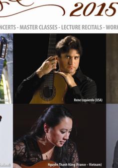 Liên hoan Guitar Quốc tế Sài Gòn 2015 quy tụ nhiều nghệ sĩ nổi tiếng
