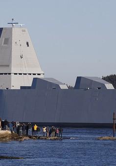 Mỹ thử nghiệm tàu khu trục tàng hình bậc nhất