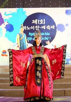 Sôi nổi Ngày hội văn hóa Việt - Hàn tại Việt Nam
