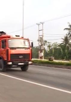 Quảng Trị: Khắc phục hằn lún trên tuyến Quốc lộ 1A