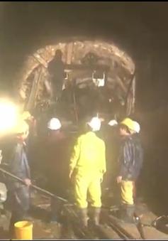 Hình ảnh không thể quên về hành trình cứu hộ vụ sập hầm thủy điện Đạ Dâng