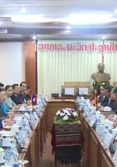 Chủ tịch nước Lào tiếp Đoàn đại biểu Ban Đối ngoại Trung ương Đảng