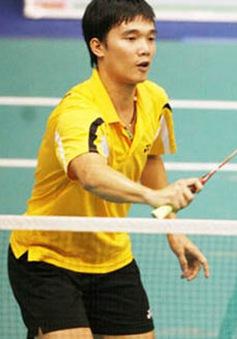 Nguyễn Hoàng Nam tiến bước vào vòng 3 giải cầu lông Malaysia International 2015
