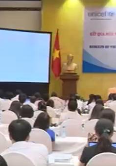 Việt Nam hoàn thành các Mục tiêu phát triển thiên niên kỷ về trẻ em và phụ nữ