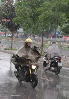 Bắc Bộ đón không khí lạnh, nhiều nơi có mưa to