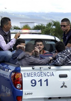 Honduras bắt giữ 5 công dân Syria mang hộ chiếu giả