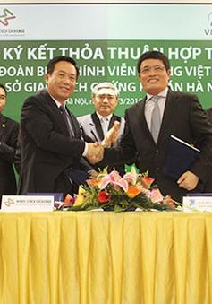Sở giao dịch chứng khoán Hà Nội hợp tác thúc đẩy tái cơ cấu VNPT