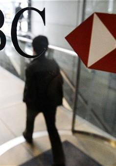 Lợi nhuận ngân hàng HSBC giảm 17% sau các bê bối trốn thuế