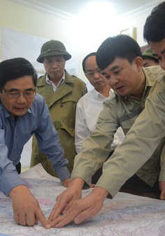 Bộ trưởng Cao Đức Phát kiểm tra công tác khắc phục hậu quả mưa lũ tại Quảng Ninh