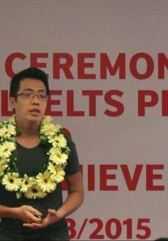 Việt Nam có đại diện đầu tiên đoạt giải IELTS khu vực Đông Á