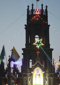 Giáng sinh lộng lẫy nơi xứ đạo ven biển Nam Định
