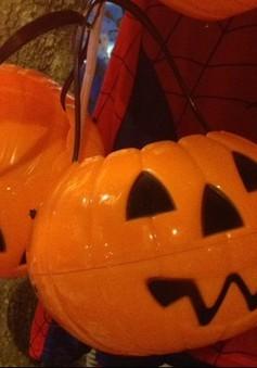 Phố Hàng Mã rục rịch mùa Halloween