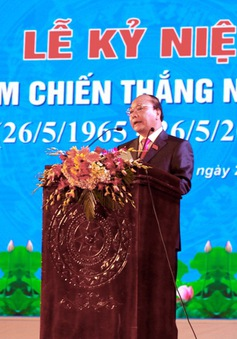 Kỷ niệm 50 năm chiến thắng Núi Thành