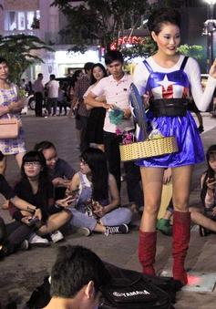 Dàn thí sinh Next Top Model gây cười với thời trang cosplay