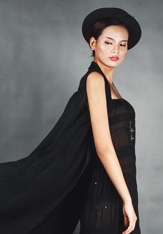 """Á quân Vietnam's Next Top Model 2014 """"phiêu"""" với trang phục ren"""