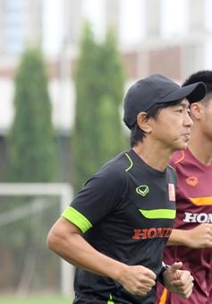 ĐT Việt Nam miệt mài tập luyện cho vòng loại World Cup