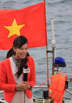 """BTV Nguyễn Ngân: """"Những chuyến đi tác nghiệp giúp tôi thêm bản lĩnh"""""""